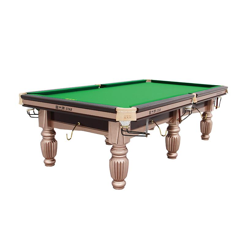 星牌台球桌XW112-9A标准美式落袋中式台球桌【比赛用台】