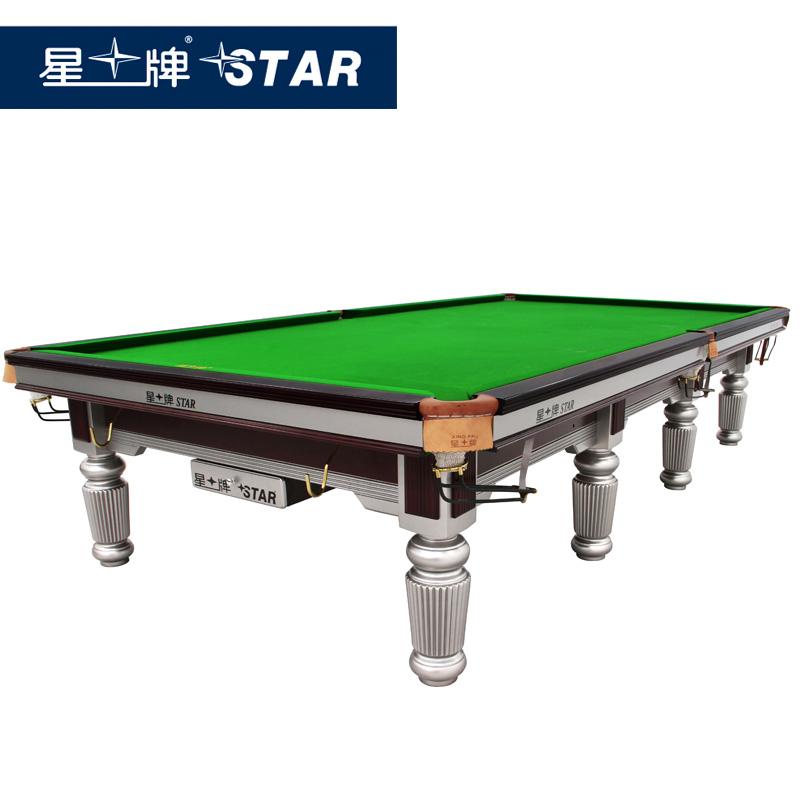 星牌英式斯诺克台球桌XW102-12S标准台职业比赛用台
