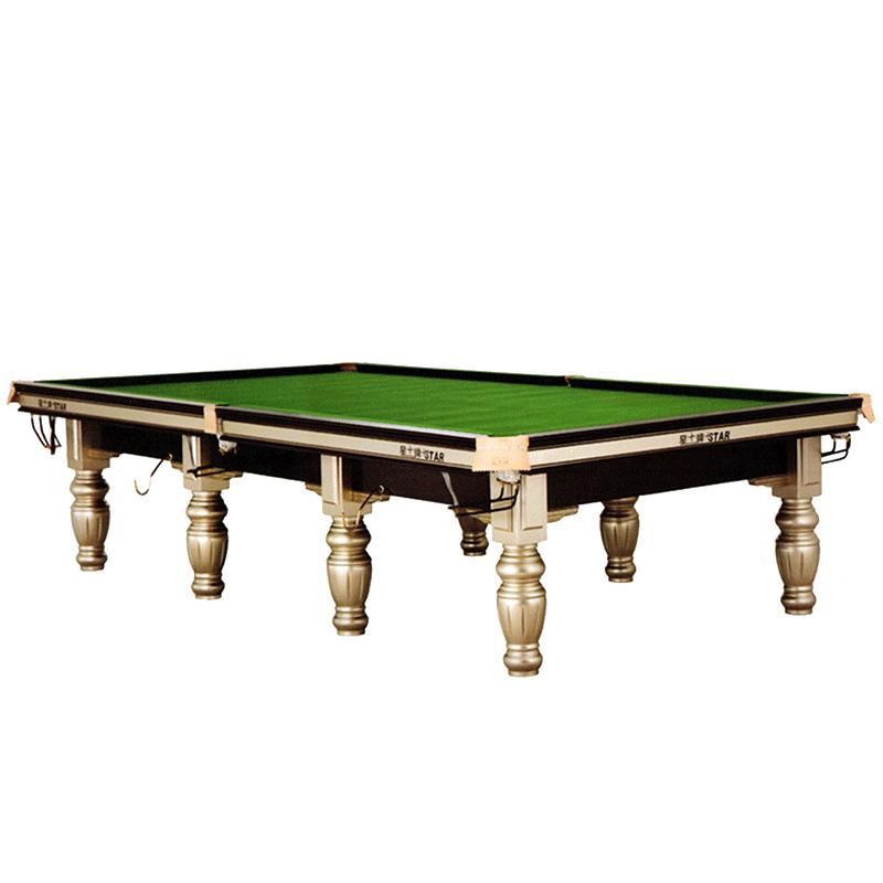 星牌英式斯诺克台球桌XW106-12S俱乐部用台